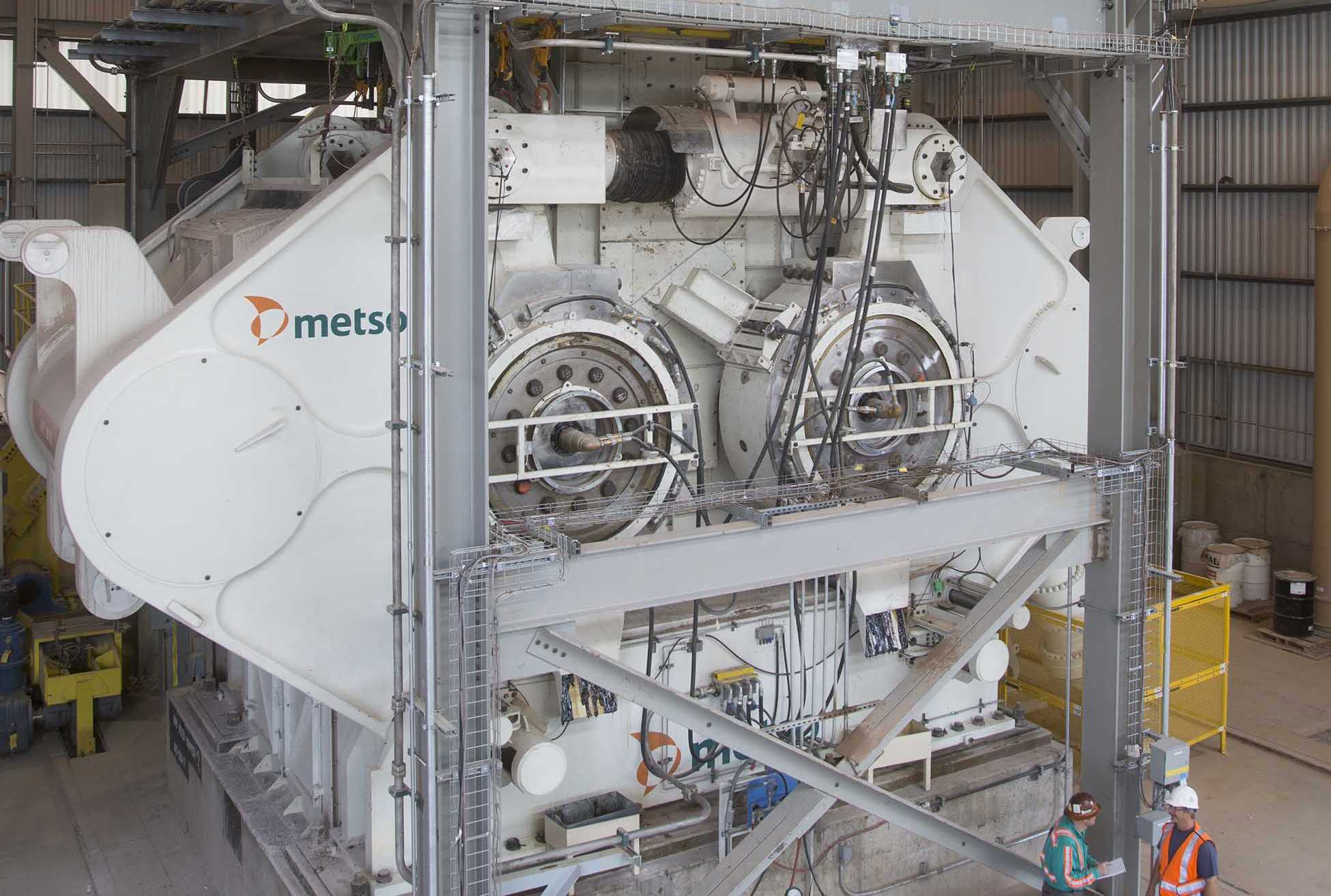 Энергоэффективное решение компании Metso для медного рудника