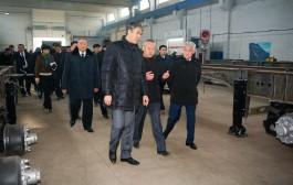 А.Исекешев и Б.Сапарбаев обсудили темпы реализации второй пятилетки  индустриализации и программы «Нұрлы жол» в Актюбинской области