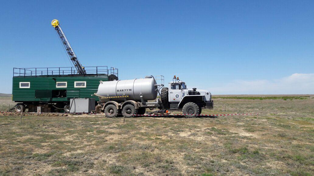 АО «Казгеология» приступила к буровым работам на месторождении Итауыз