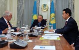Встреча с руководством АО «Усть-Каменогорский титано-магниевый комбинат»