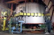 Ещё одну печь Аксуского завода ферросплавов сделали экологичной