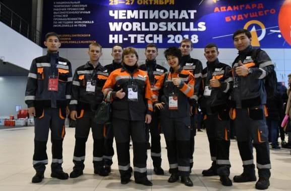 Самой большой сборной Евразийского WorldSkills Hi-Tech 2018 стала сборная Казахстана