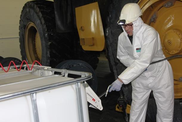 Новый ремонтный бокс позволит сократить  время простоев техники в ССГПО
