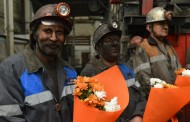 Шахтеры шахты «Саранская» выдали на-гора 1 735 000 тонн угля и встретили Новый год за 33 дня до 1 января