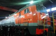 Транспортный парк железнодорожного цеха АО «Шубарколь комир» пополнился тремя новыми тепловозами