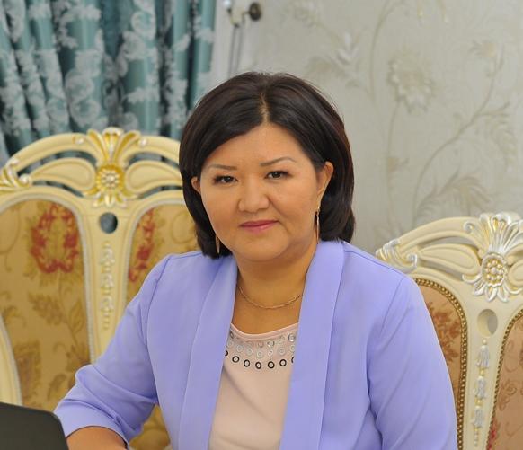 Жанар Аманжолова, вице-президент по IT и корпоративному развитию АО