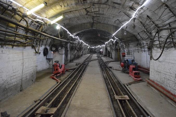 Новое освещение шахты «Соколовская» ССГПО