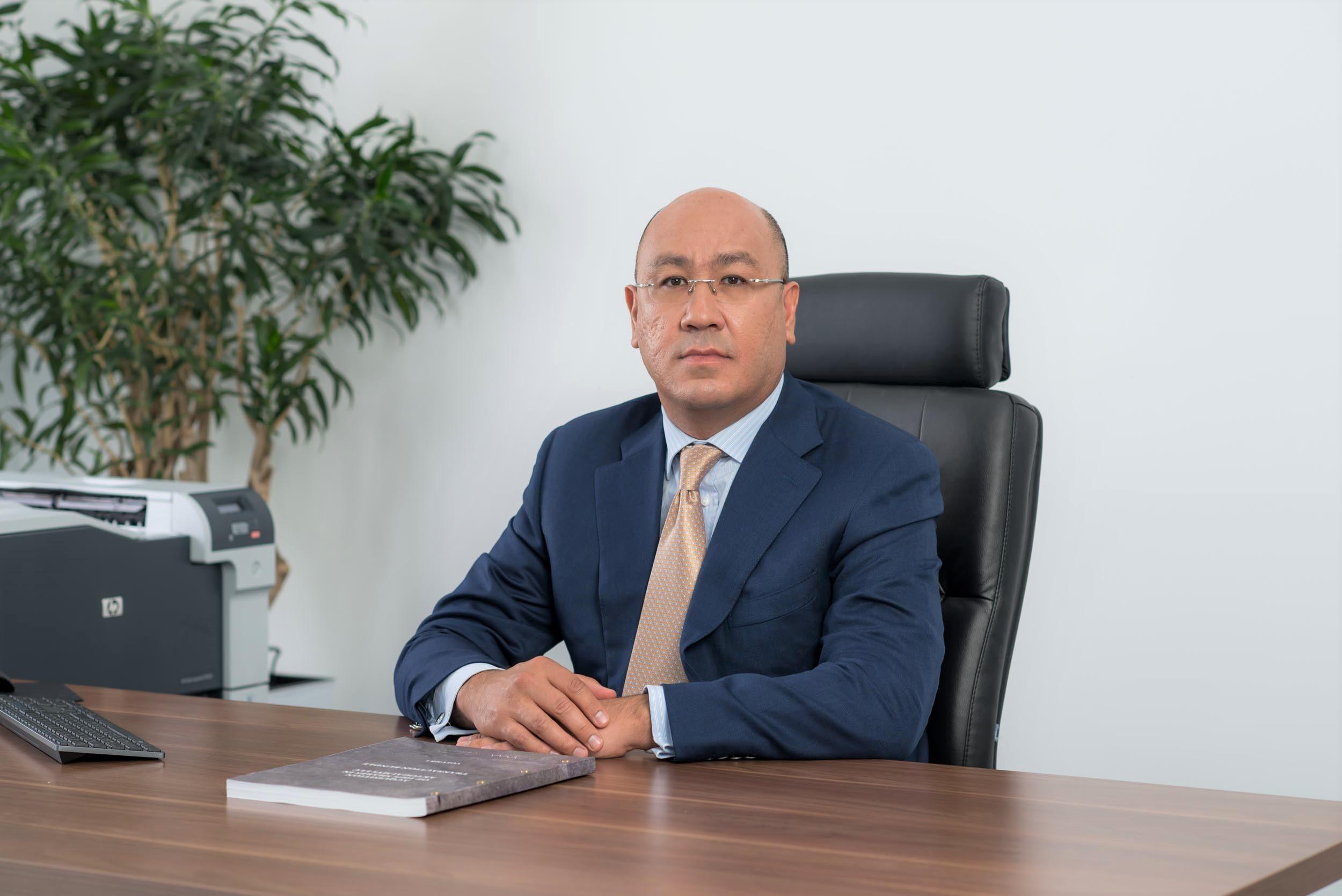 Дияр Бахытбекович Канашев, президент – председатель правления АО «АК Алтыналмас»
