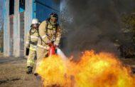 В АО «Алюминий Казахстана» впервые провели cоревнования по пожарно-спасательному спорту