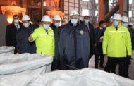 Президент Казахстана посетил ферросплавный завод ТОО «YDD CORPORATION»