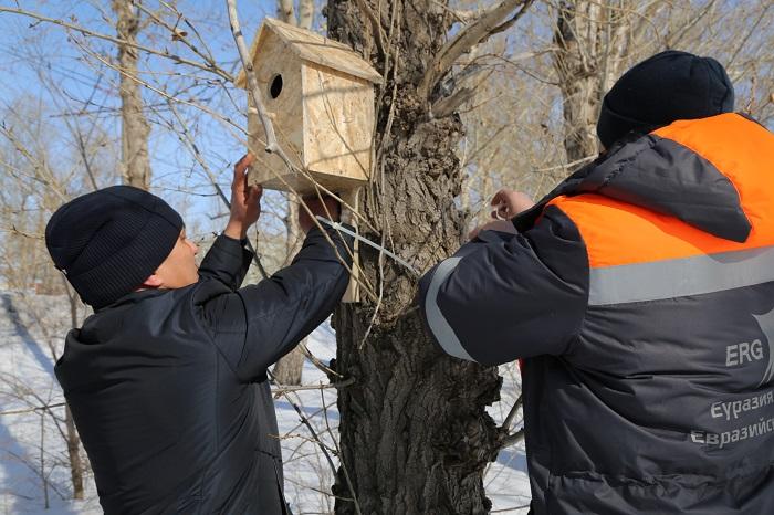 ЭКО акцию устроили металлурги КЭЗ  в дни празднования Наурыза