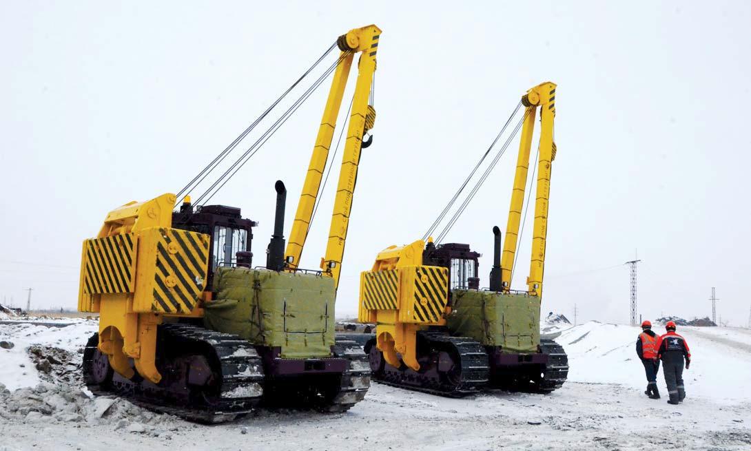 Автопарк ССГПО пополнился новой вспомогательной техникой
