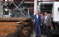 Роман Скляр в ходе рабочей поездки посетил ряд предприятий Павлодарской области